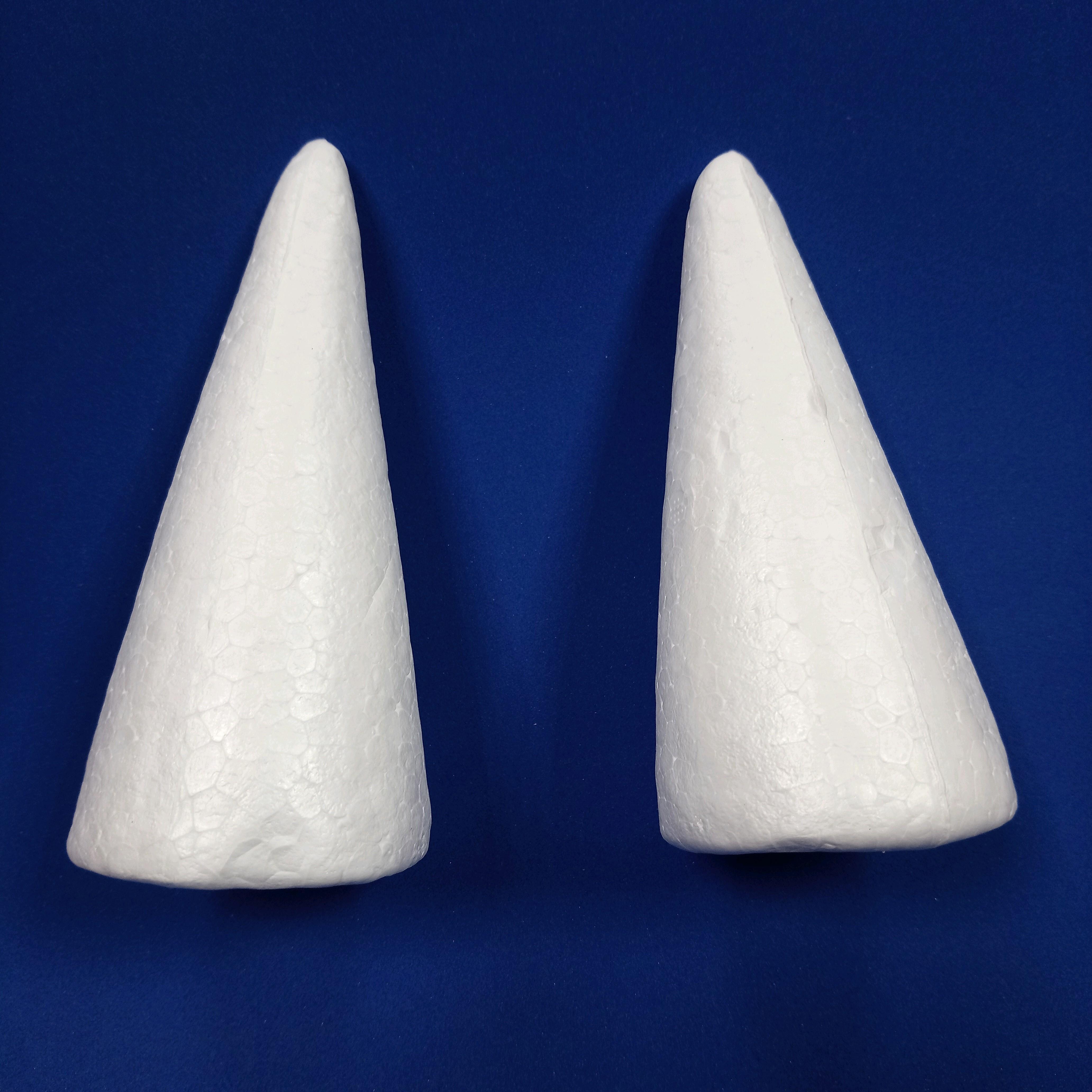 保麗龍圓錐高4cm~18cm