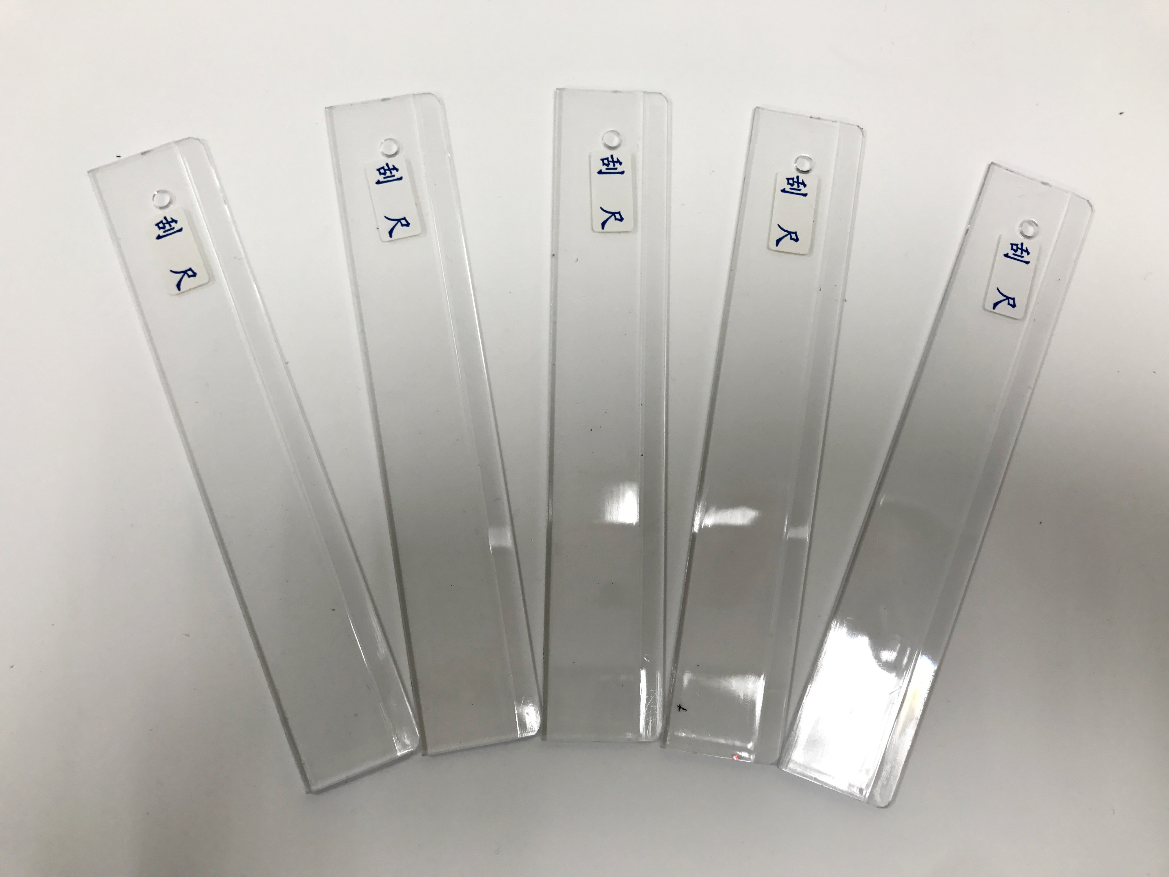 塑膠刮尺(5入)簡易式刮刀