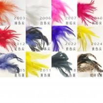 #20羽毛雞毛