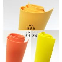 泡棉珍珠板48CM*95CM-黃色系列(1.5MM&3.0MM)