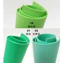 泡棉珍珠板48CM*95CM-綠色系列(1.5MM&3.0MM)