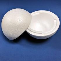 保麗龍球45.0CM兩個半圓