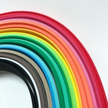泡棉彩條1.5CM*42CM(1.5MM&3.0MM)隨機20色組